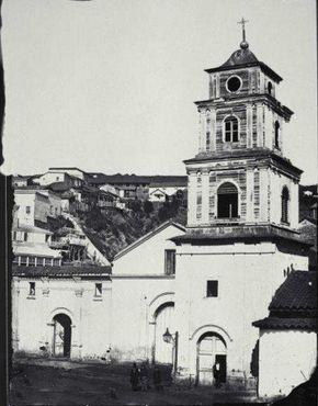 Церковь Святого Франциска в Вальпараисо, 1864 г.