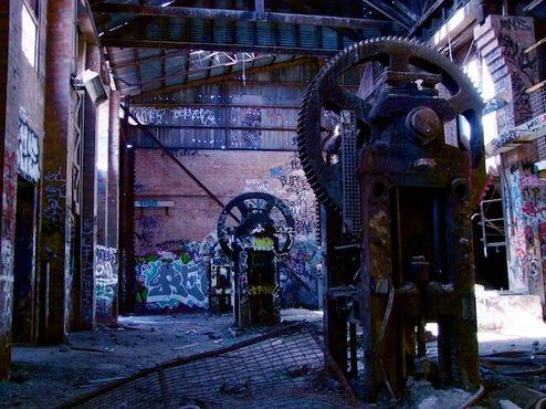 Кирпичный завод города Бокс Хилл