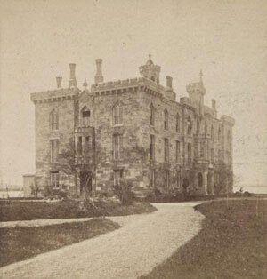 Госпиталь для больных оспой, около 1870 г.