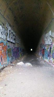 Западный конец клинтонского туннеля