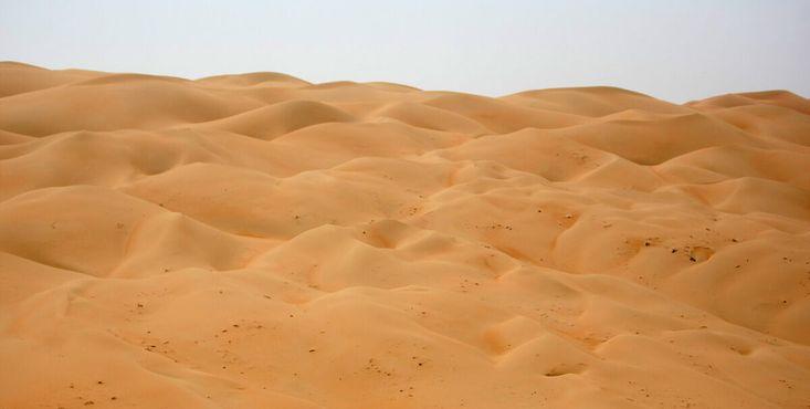 Дюны Ливы. Фотография Сэмми Даллалома