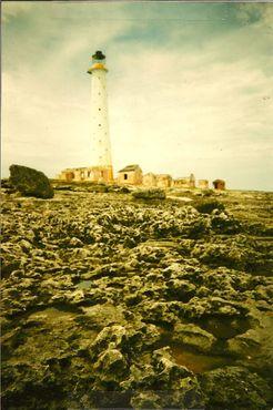 Вид на маяк с моря