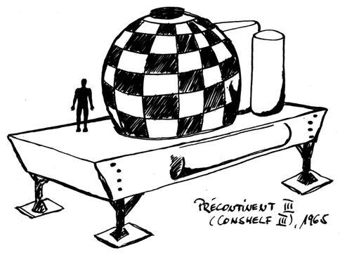 Схема проекта «Преконтинент-3»(«Коншельф-3»)