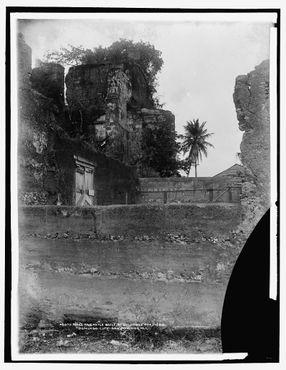 К началу XX века это место было в руинах