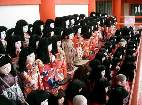 Куклы в храме