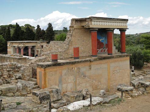 Руины Кносса
