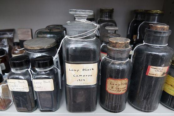 Оттенки черного