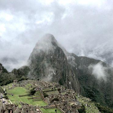 Туман над Мачу-Пикчу