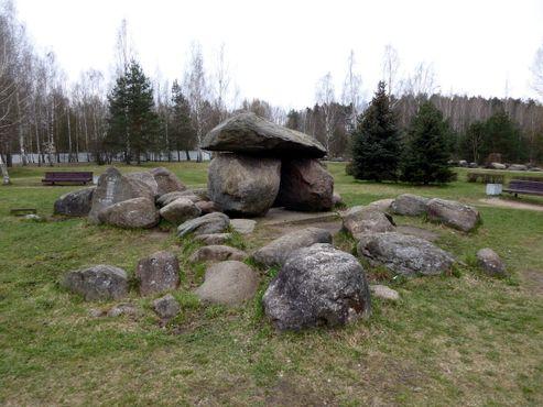 Музей Камней повторяет форму и топографию Беларуси
