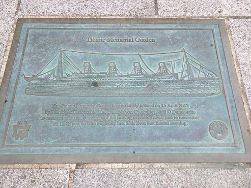 """Мемориальный сад """"Титаника"""""""