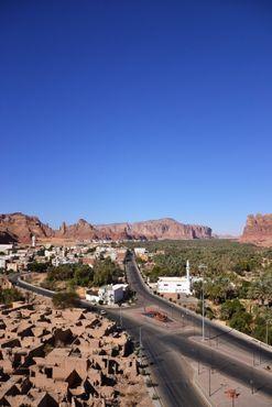 Многие из жителей старого Аль-Улы мигрировали в соседний современный город
