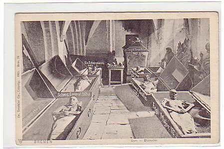Фото склепа, сделанное в 1910 году