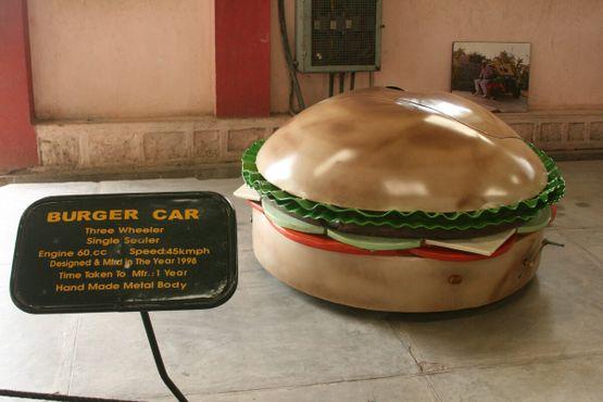 Машина-гамбургер