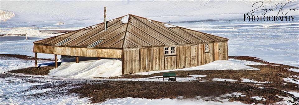 Хижина «Дискавери» близ станции Мак-Мердо. Антарктида, январь 2018