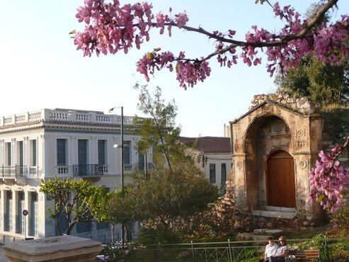 Руины медресе