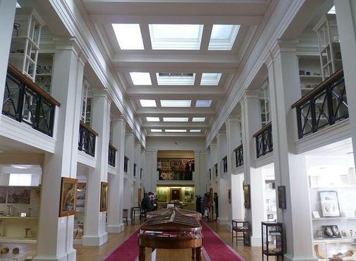 В музее «Зал хирургов»