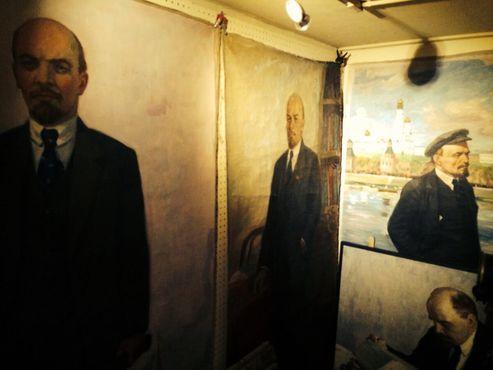 Картины Ленина