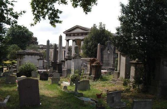 Часовня на кладбище Кенсал-Грин