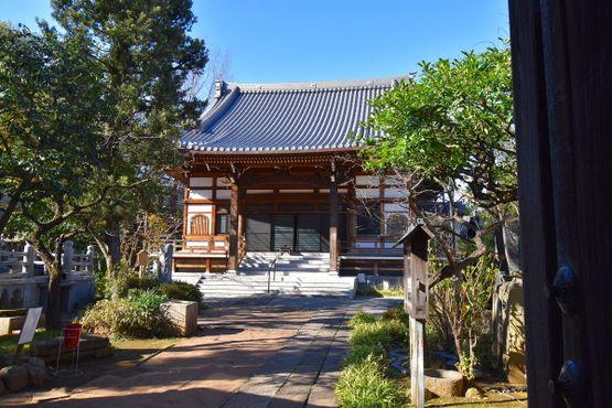 Главное здание храма Кококу