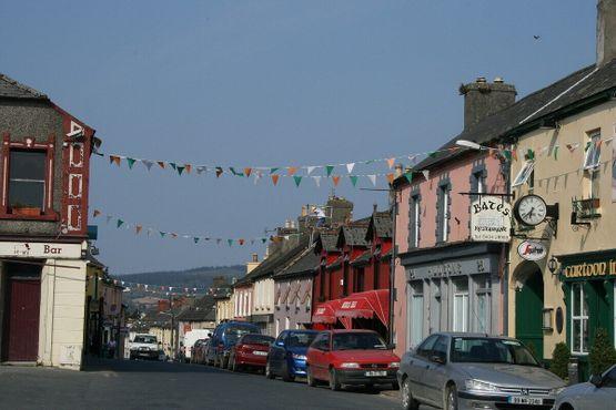 Главная улица в Ратдраме, графство Уиклоу