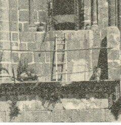 Лестница в 1890 году