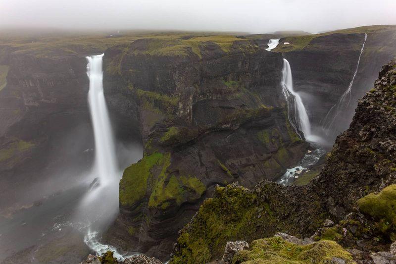 водопады Исландии 25 лучших водопадов Исландии aHR0cHM6Ly93d3cuZmluZGluZ3RoZXVuaXZlcnNlLmNvbS93cC1jb250ZW50L3VwbG9hZHMvMjAxOC8wOC9oYWlmb3NzLXdhdGVyZmFsbC1JY2VsYW5kX2J5X0xhdXJlbmNlLU5vcmFoLTIuanBn