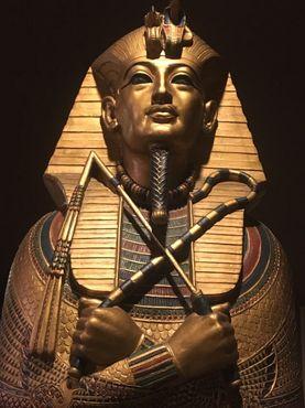 Копия саркофага Тутанхамона