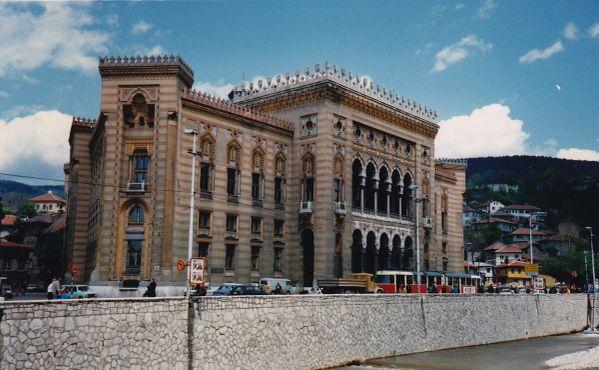 Виечница, городская ратуша, которая, несмотря на сложности, была построена