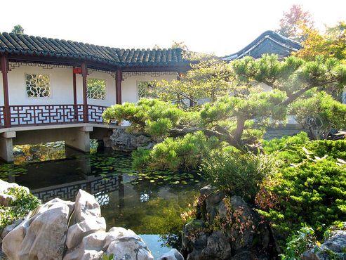 Классический сад доктора Сунь Ятсена – Кленовый зал, Двор