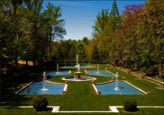Итальянский водный сад