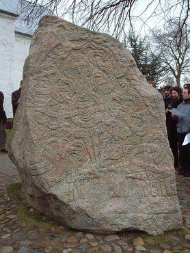 Изображение Христа на камне Харальда