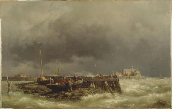«Схокланд», картина Германа Куккука (1815-1882). Точная дата написания полотна неизвестна