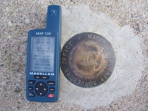 24.09.2007 GPS показывает широту и долготу