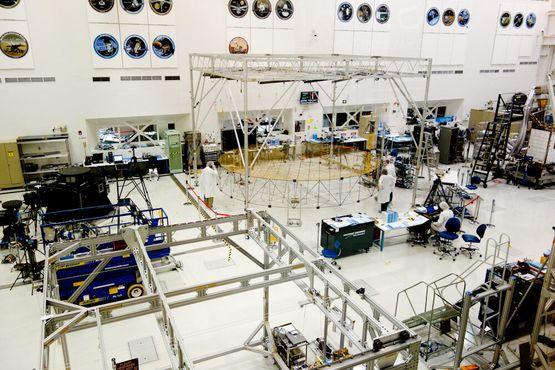 Сборочный цех космических аппаратов