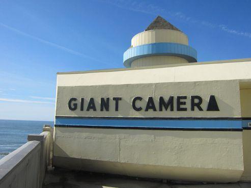 Огромная камера-обскура в 2014 году