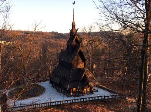 Деревянная церковь в Фантофте