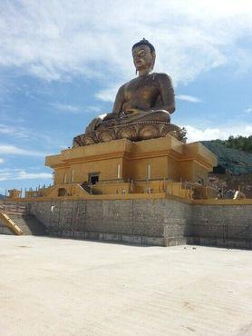 Вид на статую с обзорной площадки