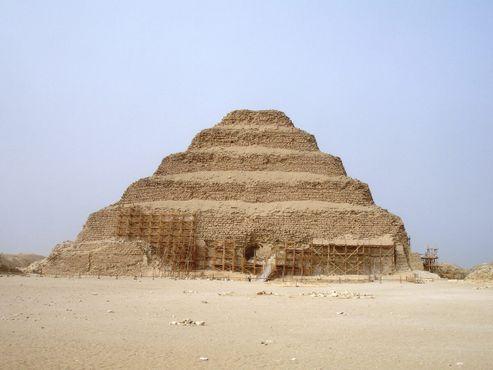 Саккара - пирамида Джосера