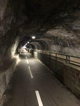 Туннель под крепостью Безансона