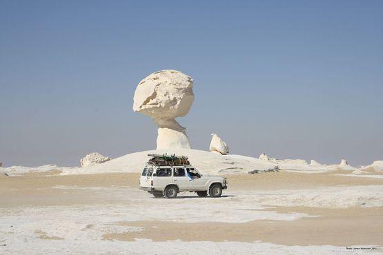 Скальные образования в Белой пустыне
