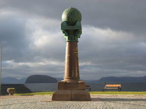 Самый северный пункт Дуги в Хаммерфесте, Норвегия