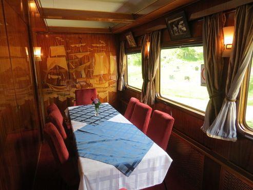 Одна из комнат в Голубом поезде