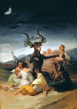 Один из кошмаров Гойи «Шабаш ведьм»