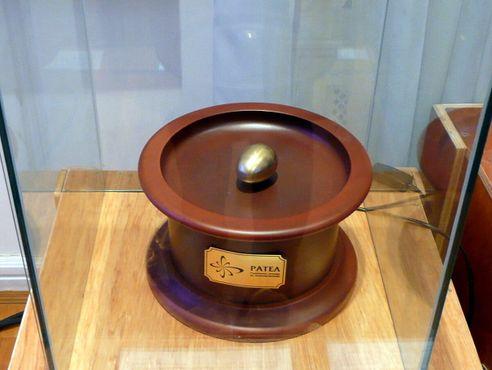 Музей Теслы — Асинхронный двигатель с овальным ротором