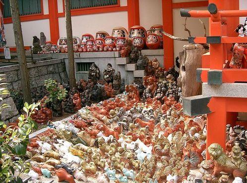 Куклы святилища