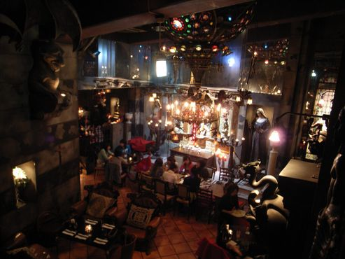 Тёмная атмосфера Христианского кафе