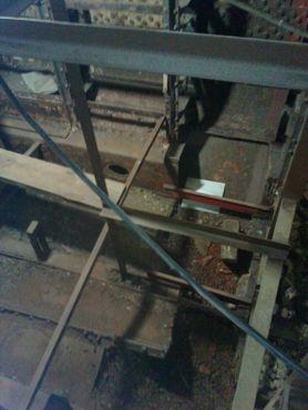 Фото сделано через 4-дюймовое отверстие в боковой части корпуса