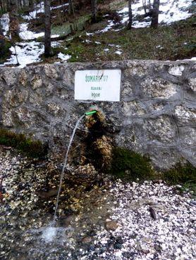 Источник мужской воды по дороге из отеля