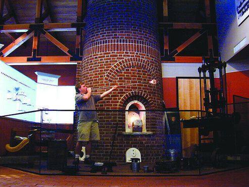 Музей стекла в Сэндвиче