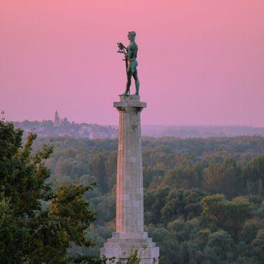 Статуя Победителя в Белграде, Сербия